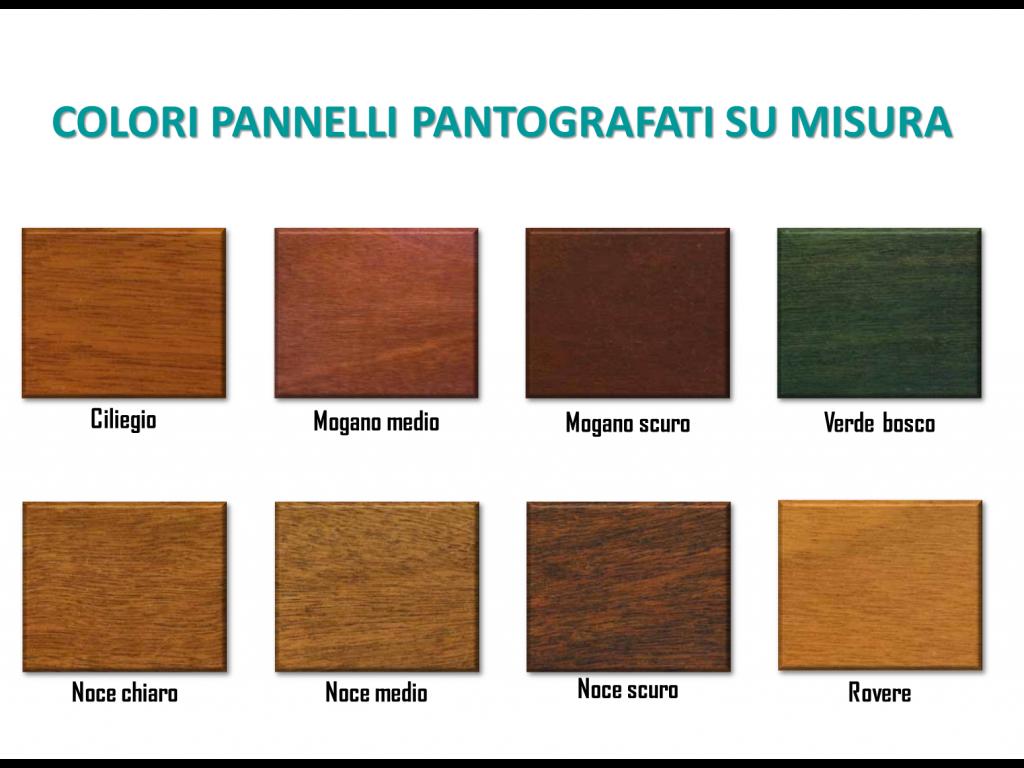 PANNELLO PANTOGRAFATO SU MISURA SP.15 mm