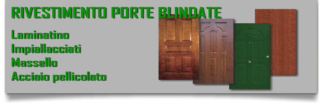 PANNELLI DA RIVESTIMENTO PANTOGRAFATI - PORTE BLINDATE E ACCESSORI