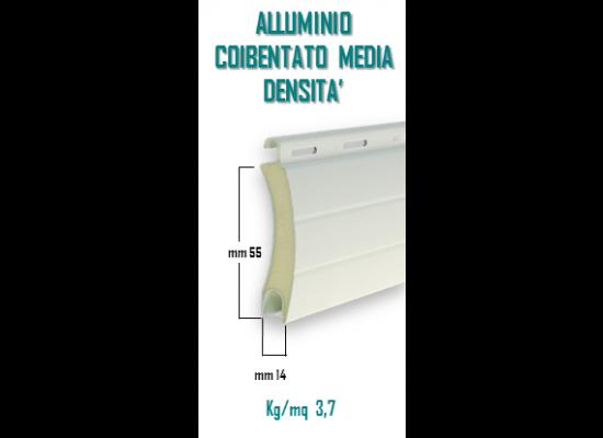 Alluminio coibentato media densità