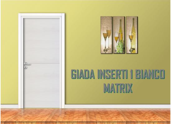Giada inserti 1 palissandro bianco matrix