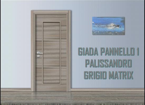 Giada pannello 1 palissandro grigio matrix