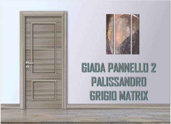 Giada pannello 2 palissandro grigio matrix
