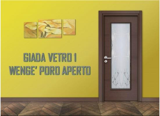 Giada vetro 1wengè poro aperto