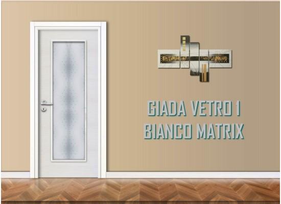Giada vetro 1 bianco matrix