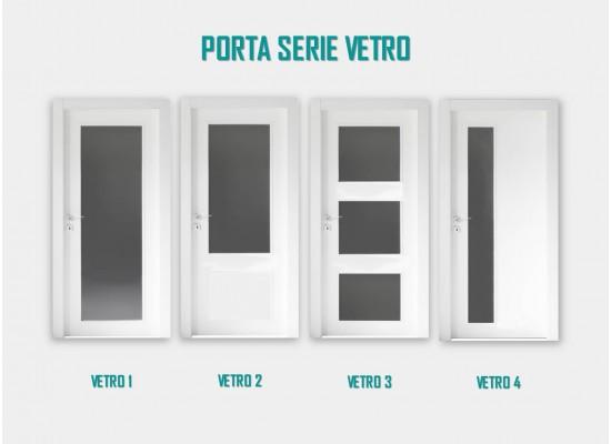Porta serie vetro
