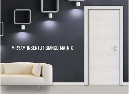 Miriam inserto 1 bianco matrix