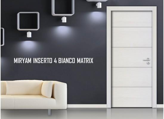 Miriam inserto 4 bianco matrix