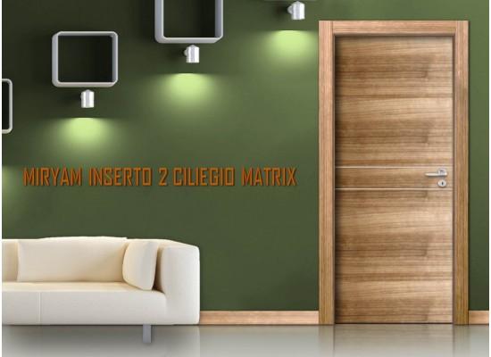 Miriam inserto 2 ciliegio matrix