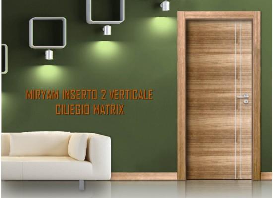 Miriam inserto 2 verticale ciliegio matrix