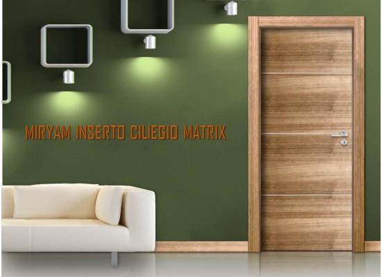 Miriam inserto 3 ciliegio matrix