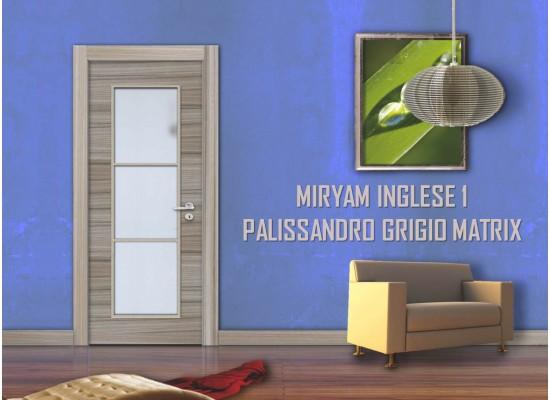 Miryam inglese 1 palissandro grigio matrix