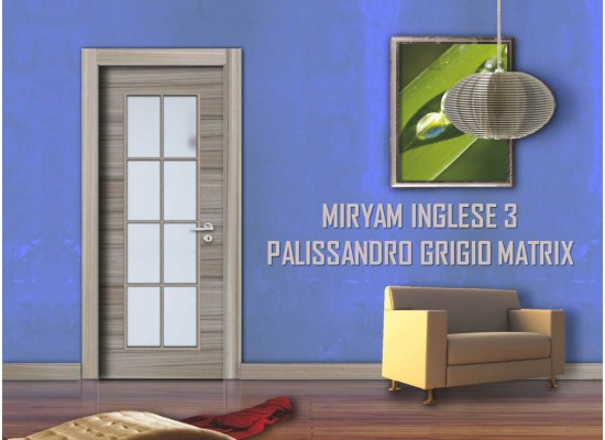 Miryam inglese 3 palissandro grigio matrix