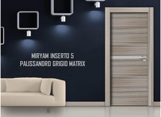 Miriam inserto 5 palissandro grigio matrix