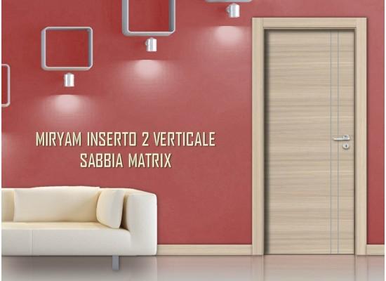 Miriam inserto 2 verticale sabbia matrix