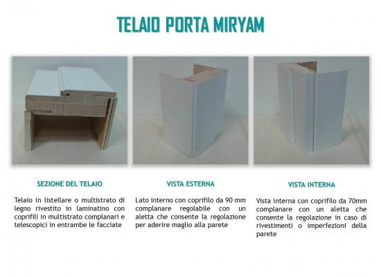 Telaio porta Miryam
