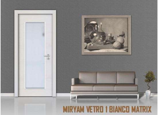Miriam vetro 1 bianco matrix