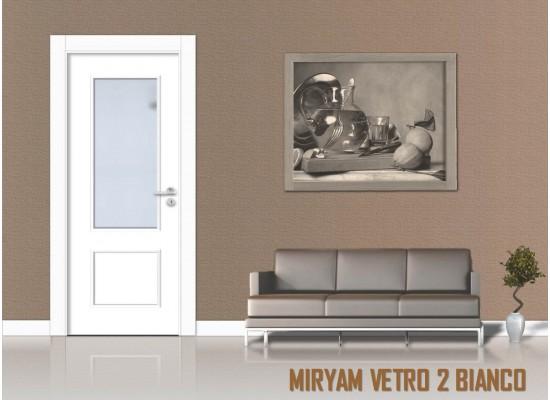 Miriam vetro 2 bianco