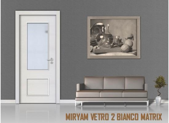 Miriam vetro 2 bianco matrix