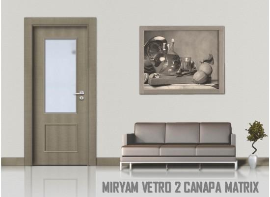 Miriam vetro 2 canapa matrix