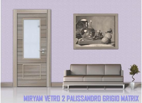 Miriam vetro 2 palissandro grigio matrix