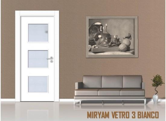 Miriam vetro 3 bianco