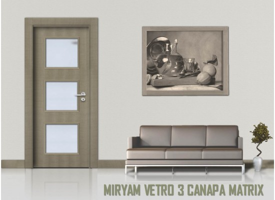 Miriam vetro 3 canapa matrix