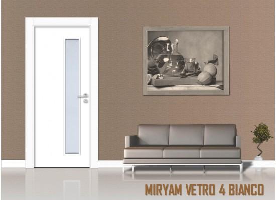 Miriam vetro 4 bianco
