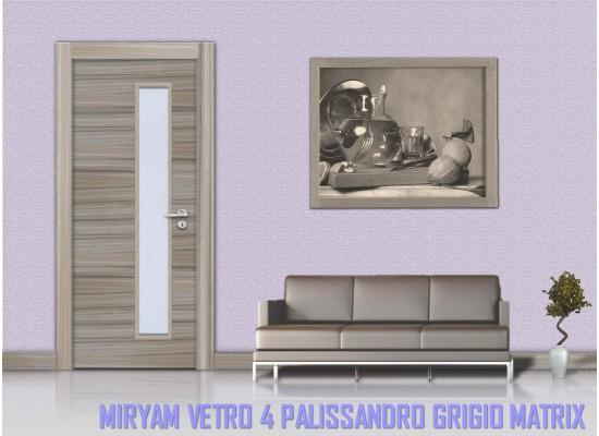 Miriam vetro 4 palissandro grigio matrix