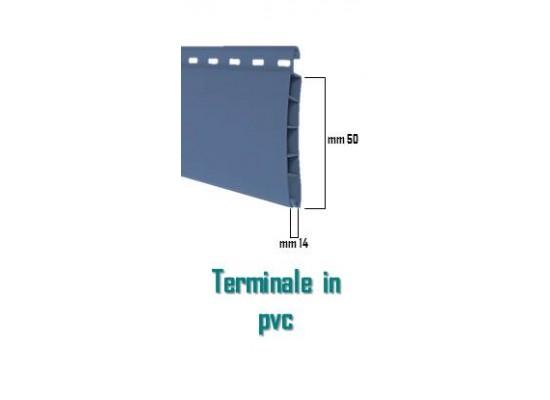 Particolare terminale avvolgibile pvc