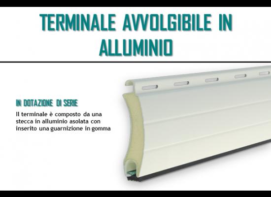 Terminale avvolgibile in alluminio