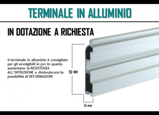 Terminale in alluminio