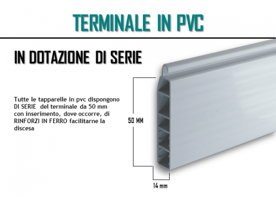 Terminale in pvc